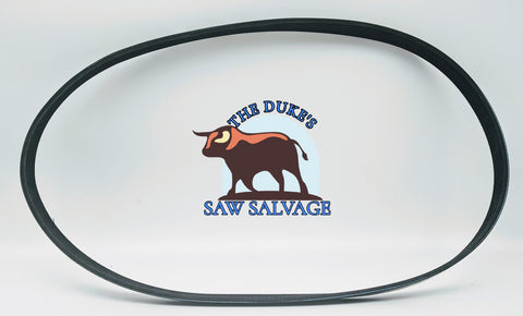 THE DUKE'S DRIVE BELT FITS HUSQVARNA K750 K760 506 29 67-02, 544 90 84-02 - www.SawSalvage.co Traverse Creek Inc.