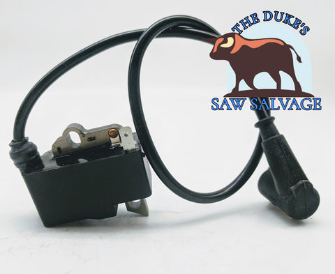 THE DUKE'S IGNITION COIL MODULE FITS STIHL TS400 TWO BOLT STYLE 4223 400 1303 - www.SawSalvage.co Traverse Creek Inc.