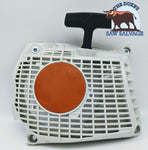 BRAND NEW RECOIL STARTER FITS STIHL MS261 1141 080 2100 - www.SawSalvage.co Traverse Creek Inc.