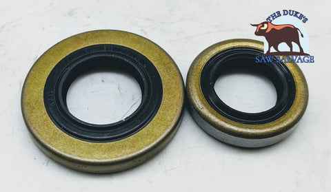 DUKE'S CRANKSHAFT OIL SEAL SET FITS STIHL 028 SR420 SR400 FS550 FS360 FS420 FS500 - www.SawSalvage.co Traverse Creek Inc.