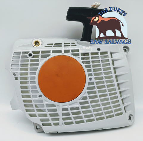 THE DUKE'S RECOIL REWIND PULL STARTER FITS STIHL MS362 - www.SawSalvage.co Traverse Creek Inc.