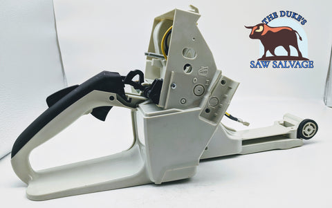 THE DUKE'S FUEL GAS TANK REAR HANDLE FITS STIHL 044 MS440 - www.SawSalvage.co Traverse Creek Inc.