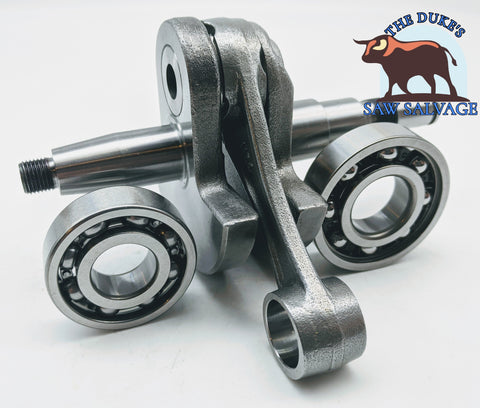 THE DUKE'S CRANKSHAFT AND BEARING SET FITS STIHL 088 MS880 1124 030 0404 - www.SawSalvage.co Traverse Creek Inc.