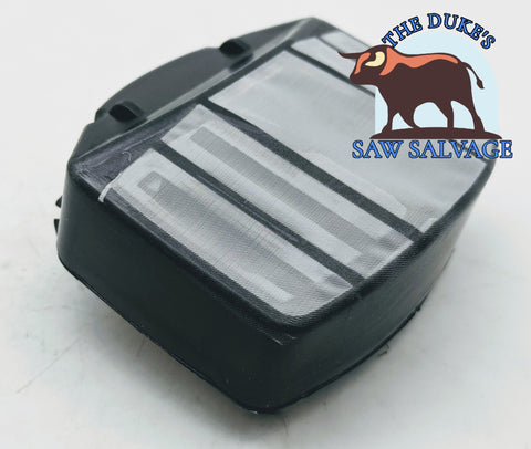 THE DUKE'S AIR FILTER FITS HUSQVARNA 357XP 359 MESH TYPE 537 01 09-02 - www.SawSalvage.co Traverse Creek Inc.