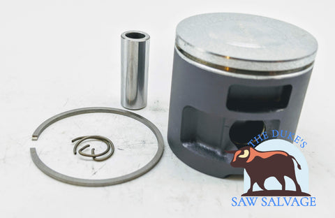 THE DUKE'S PERFORMANCE COATED POP UP PISTON FITS HUSQVARNA 455 RANCHER 47MM - www.SawSalvage.co Traverse Creek Inc.