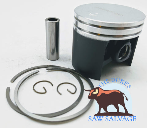 THE DUKE'S PERFORMANCE COATED PISTON FITS HUSQVARNA 394XP 56MM - www.SawSalvage.co Traverse Creek Inc.