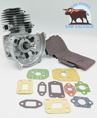GENUINE ECHO PISTON CYLINDER SHORTBLOCK SRM-2400 GT-2400 PPT-2400 SRM-2450 HCA-2400 - www.SawSalvage.co Traverse Creek Inc.