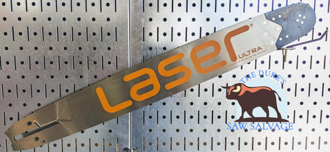 LASER ULTRA CHAINSAW BAR 24 INCH .375 .050 84DL LARGE HUSQVARNA MOUNT - www.SawSalvage.co Traverse Creek Inc.