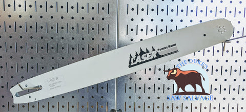 LASER FORESTRY MASTER CHAINSAW BAR 18 INCH .325 .063 74DL LARGE STIHL MOUNT