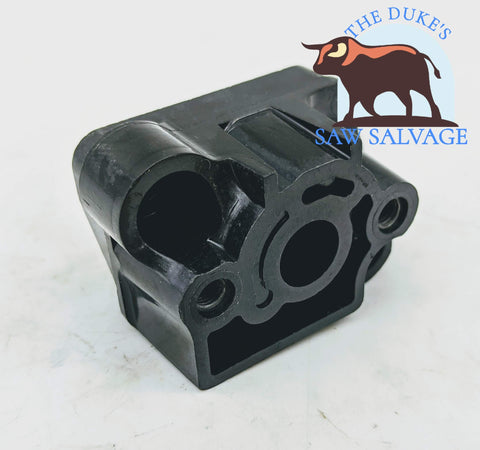 GENUINE ECHO SRM-225 TRIMMER INTAKE MANIFOLD BLOCK - www.SawSalvage.co Traverse Creek Inc.