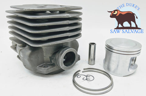 GENUINE HYWAY NIKASIL BIG BORE POP UP CYLINDER FITS HUSQVARNA 365 372XP - www.SawSalvage.co Traverse Creek Inc.