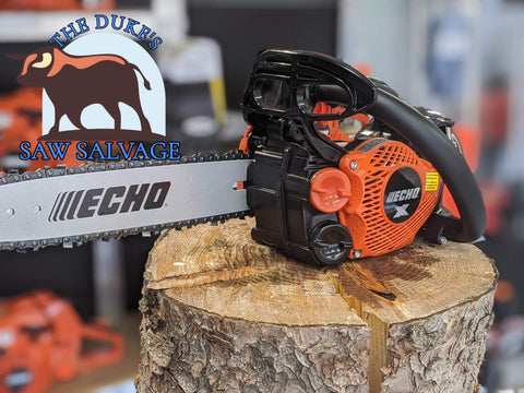 BRAND NEW ECHO X-SERIES CS-2511T CHAINSAW WITH 12 INCH BAR AND CHAIN - www.SawSalvage.co Traverse Creek Inc.