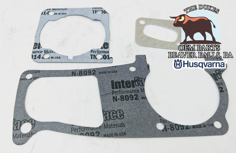 GENUINE OEM HUSQVARNA 346XP 350 353 GASKET SET 503 94 28-02