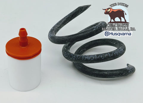 GENUINE OEM HUSQVARNA FUEL LINE AND FILTER FITS 350 372 353 365 + MORE