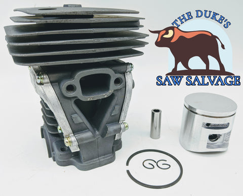 THE DUKE'S CHROME PISTON AND CYLINDER KIT FITS HUSQVARNA 450 44MM
