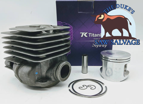 HYWAY TITANIKEL BIG BORE POP-UP CYLINDER KIT FITS HUSQVARNA 372 52MM