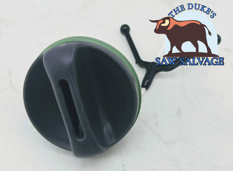 THE DUKE'S FUEL AND OIL CAP FITS HUSQVARNA 357 359 455 460 RANCHER 537 21 52-02