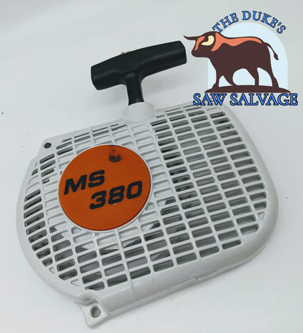 THE DUKE'S RECOIL REWIND PULL STARTER FITS STIHL 038 MS380