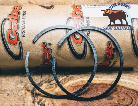 CABER PISTON RING 54X1.5 STIHL 045 056 SUPER HUSQVARNA 288 - www.SawSalvage.co Traverse Creek Inc.