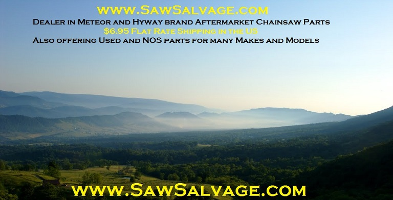 SawSalvage.com Stihl and Husqvarna Chainsaw Parts Meteor Piston Hyway Dealer