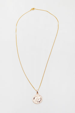 Reliquia Mini Lucky Gold Coin Necklace