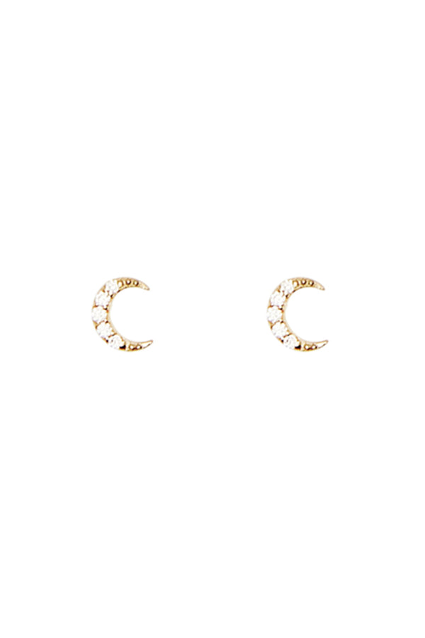 By Charlotte 14k Gold Evening Sky Earrings