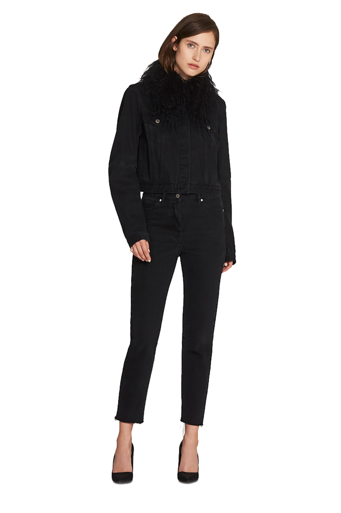 CAMILLA AND MARC Aurore Jacket Black Denim