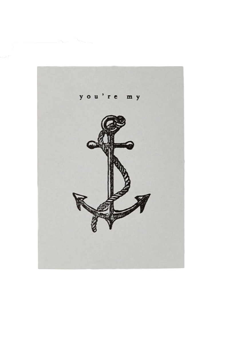 "Katie Leamon ""You're My Anchor"" Card"