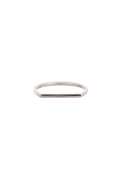 Linda Tahija Geo Ring - 9k White  Gold