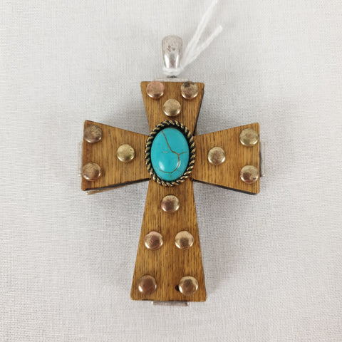 Cross Necklace Pendant Womens Accessory