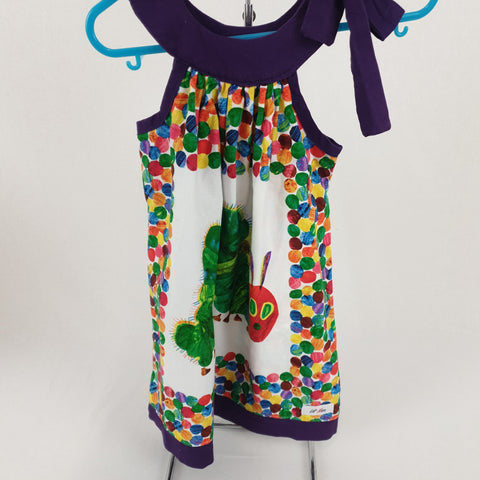 LIL MISS 'Hungry Caterpillar' Dress Girls Size 2 - 3 YRS