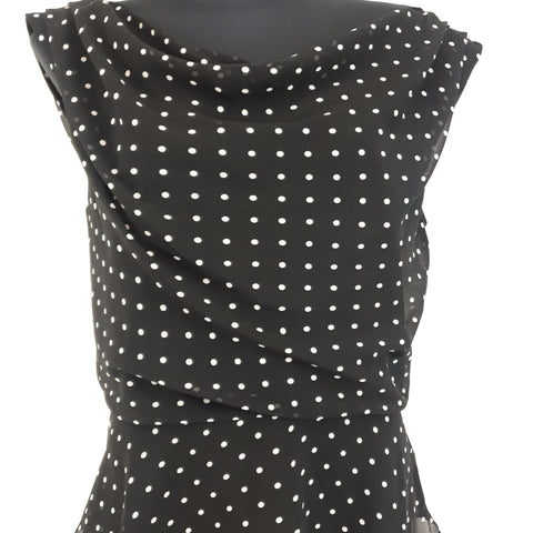Alannah Hill Polka Dot Chic Blouse Womens Size 12 *Reduced*
