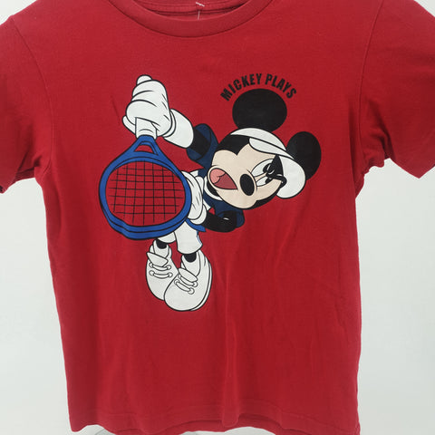 UNIQLO Mickey Mouse Tee Kids Size 4-5 Yrs