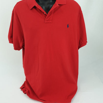 Genuine Ralph Lauren Red T-Shirt Mens Size XXL 'As Is'