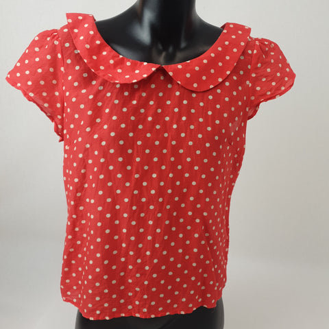 PRINCESS HIGHWAY Polka Dot Blouse Womens Size 8 RRP $78 *Reduced*