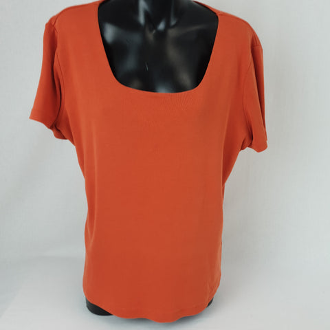 KATIES Cotton Basic Top Womens Size L