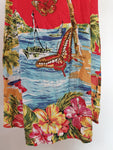 Mombasa Rose Womens Dress Size S