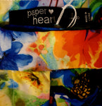 Paper Heart Bright Floral Shorts Womens Size 8