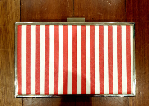 Candy Cane Womens Clutch Bag