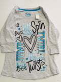 Justice Top Girls Size 8