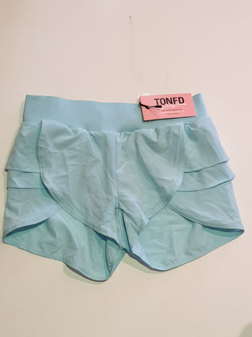 Toned By Ashy Bines Aqua Shorts Womens Size XS