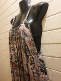 Rayon Womens Maxi Dress Size M