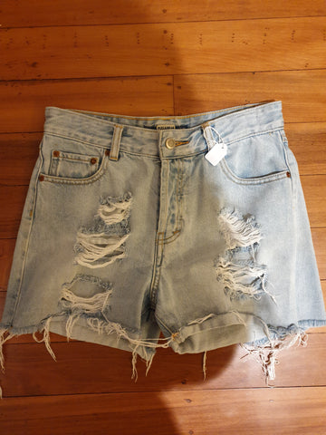 Pull & Bear Womens Jean Shorts Size EUR 36