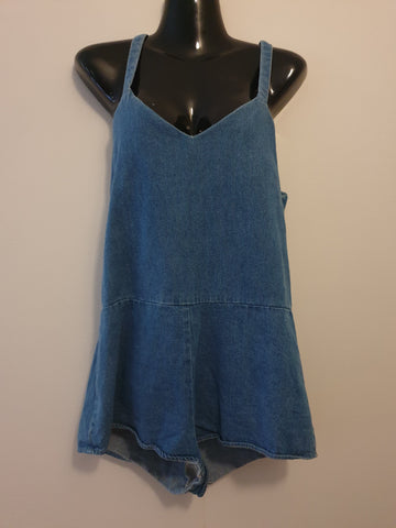 The Fifth Label Denim Overall One-Piece Womens Size XS