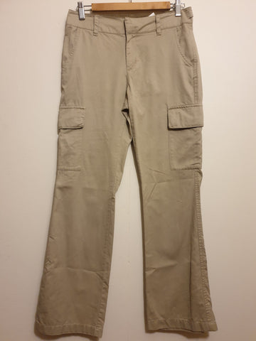 GAP Beige Boot Cut Pants Womens Petite Size 2