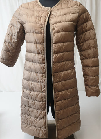 UNIGLO Water Resistant Duck Down Winter Jacket Womens Size XS