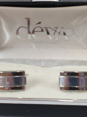 Devs Australia Silver Cuff Links Mens Accessory