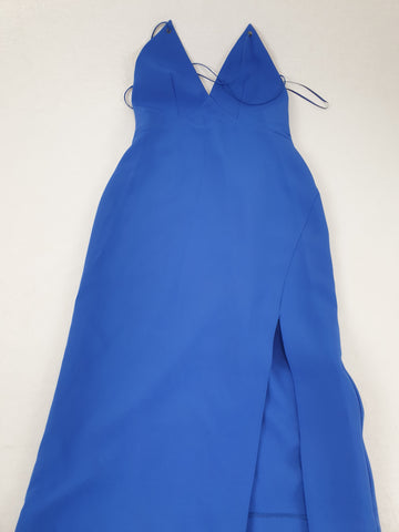TOPSHOP 'Brand New' Royal Blue Dress Womens Size 6