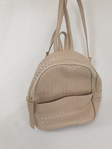 TYPE Tiny Beige Backpack Womens Accessory