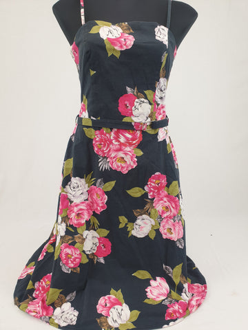 WISH Floral Rose Dress Womens Size 10